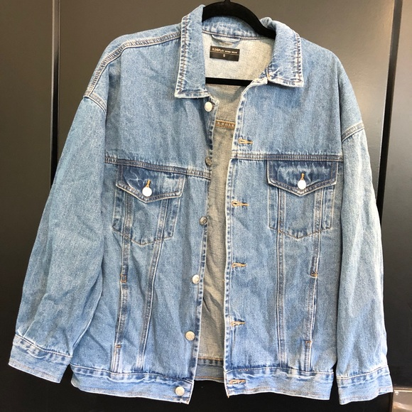 Jackets & Blazers - Oversized Denim Jacket